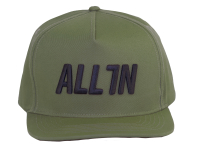 ALL IN Logo Snapback Cap
