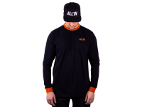 ALL IN Pushing The Limits Longsleeve black/rust M