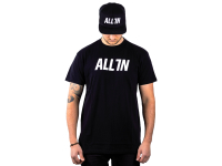ALL IN Logo T-Shirt black