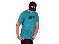 ALL IN Logo T-Shirt turquoise